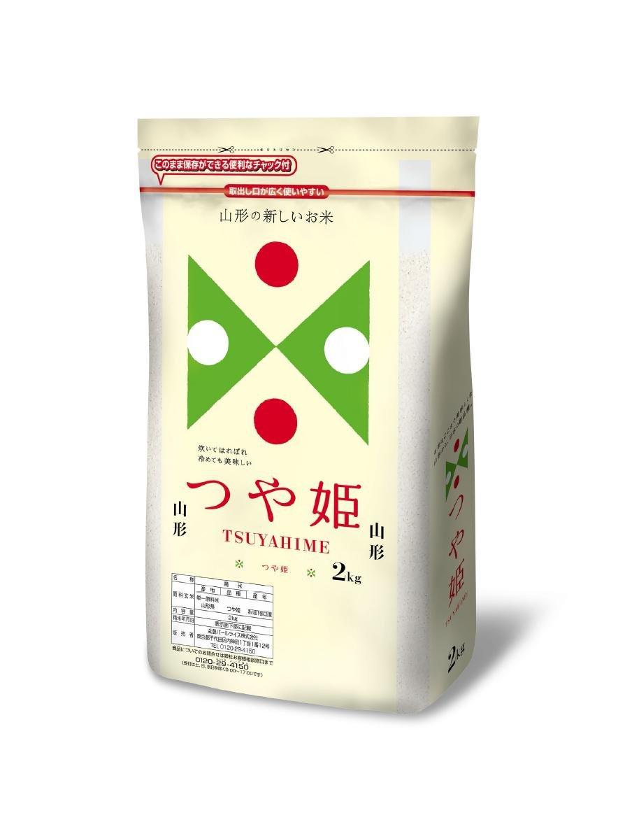 【精米】山形県産 白米 つや姫