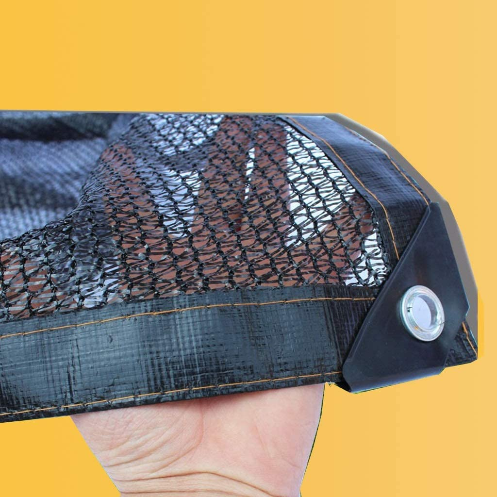 Rete Solare Rete Ombreggiante Rettangolo Nero con Isolamento Solare for Giardino Piscina Coperta Parasole Parasole Tenda Esterna Ombrellone Rete di Sun Size : 2x2m