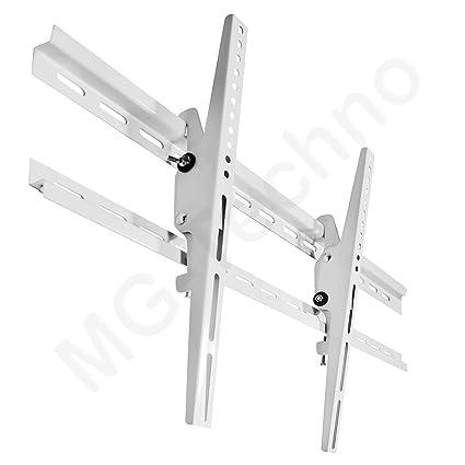 TV Wandhalterung LED Halterung Neigung 32-70 Zoll VESA 100x100-660x400 Weiß