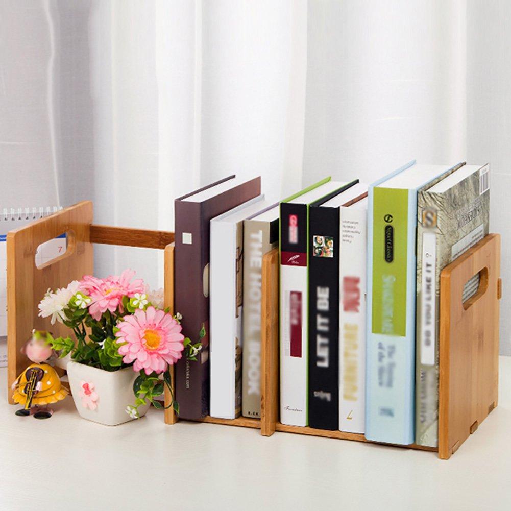 Storage rack Simple Creative Small Shelf Student Mini Telescopic Small Office Desk Bookshelf (Size : A)