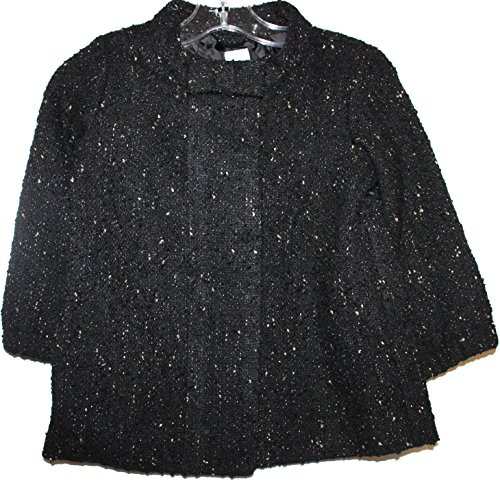 baby-gap-toddler-preschool-girls-black-boucle-coat-with-metallic-flecks-2t