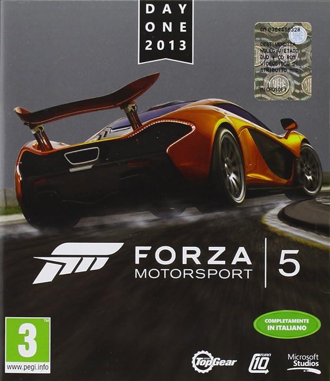 Microsoft Forza Motorsport 5 - Day One Edition, Xbox One - Juego (Xbox One, Xbox One, Racing, E (para todos)): Amazon.es: Videojuegos