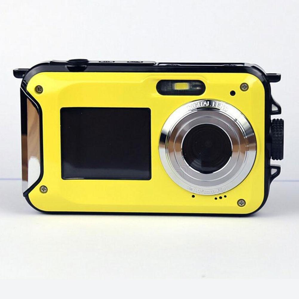 Dual-HD-Digitalkamera wasserdichte Kamera DV Kamera 8 Millionen Pixel CMOS-Sensor