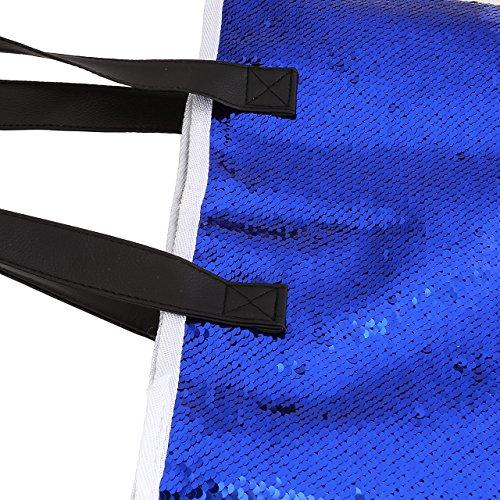 Femmes tout Cartable Sac Main DIARY Sac Multicolore Doré Marine Bling CHIC Bandoulière Bleu à Paillettes Sac l'Epaule Sirène à à Daypacks Fourre nq8zzaT5wP