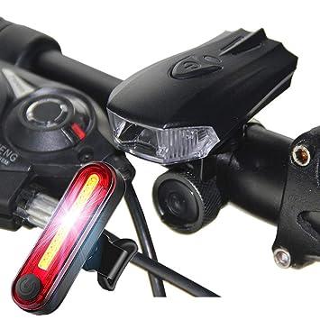 Luz Elegante De La Bicicleta del LED, Luz Delantera De La Bicicleta De Carga del