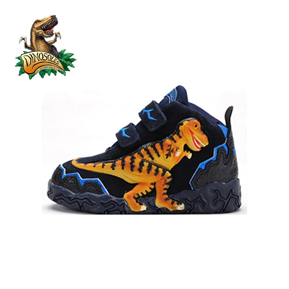 Dinosoles 3D T-Rex Dinosaur Hi-Top Shoe (Children/Toddler/Little Kid)