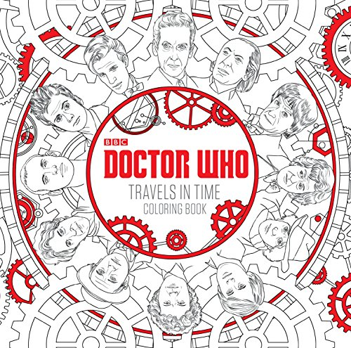 Doctor Who Travels in Time Coloring Book by Penguin Random House