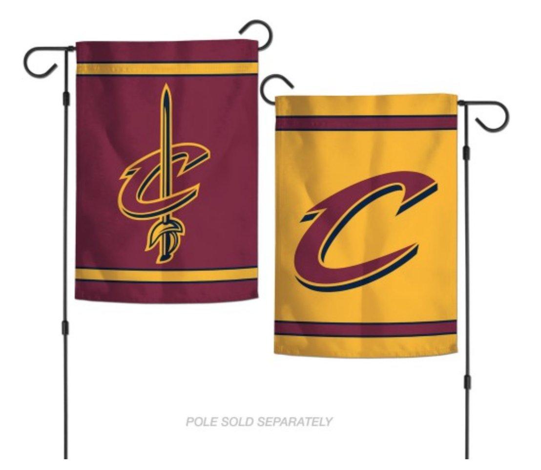 WinCraft NBA Cleveland Cavaliers 12x18 Inch 2-Sided Outdoor Garden Flag