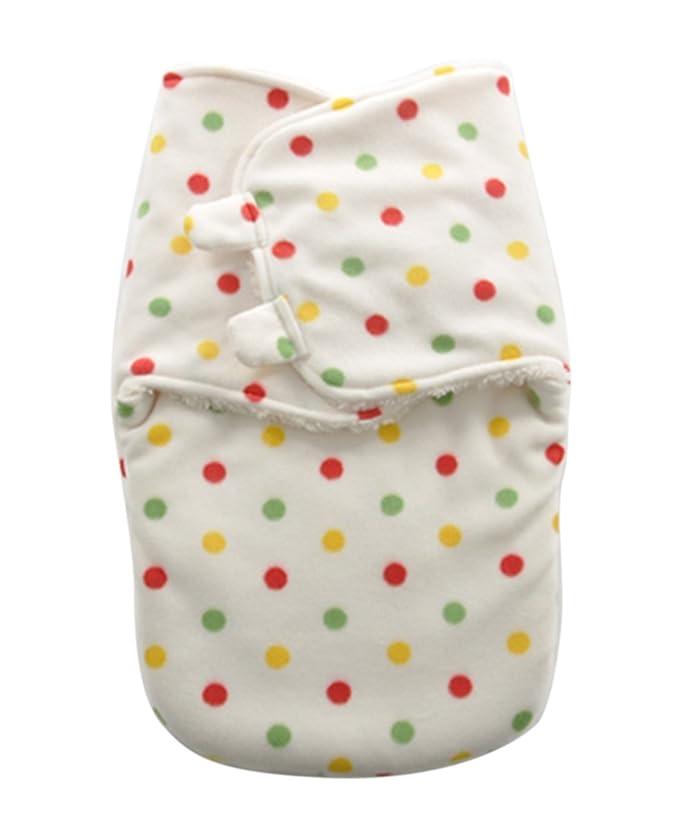 Happy Cherry Bebés Recién Nacidos Arrullo de Manta Envolvente Bolsa de Dormir Swaddle Blanket 0 - 6 Meses, 50x35cm