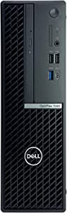 Dell OptiPlex 7080 SFF Desktop Computer - 10th Gen Intel Core i7-10700 up to 4.80 GHz CPU, 16GB DDR4 Memory, 512GB Solid State Drive, Intel UHD Graphics 630, DVD Writer, Wireless Mouse, Windows 10 Pro