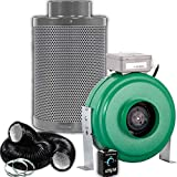 4 can fan filter combo - Active Air 4 inch 165 CFM Inline Duct Fan, Growers House 4