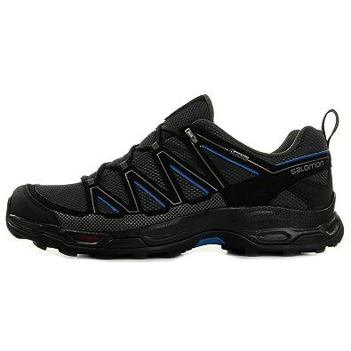 Salomon Wentwood Gtx - Zapatillas de running de Material Sintético para hombre negro negro, color gris, talla 42: Amazon.es: Zapatos y complementos