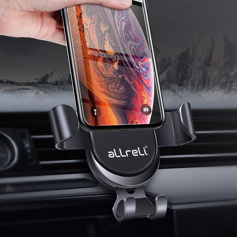 S8 et Les Autres Smartphone et GPS AUKEY Support T/él/éphone Voiture Grille A/ération Universel avec Rotation 360/° Porte T/él/éphone Voiture pour iPhone 12//11//XR//XS//X Samsung Galaxy S9 8//7