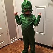 Amazon.com: Gekko Classic Toddler PJ Masks Costume, Medium