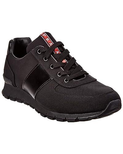f68733a15d Prada Chaussures Homme - Noir - Noir, 43 EU: Amazon.fr: Chaussures ...