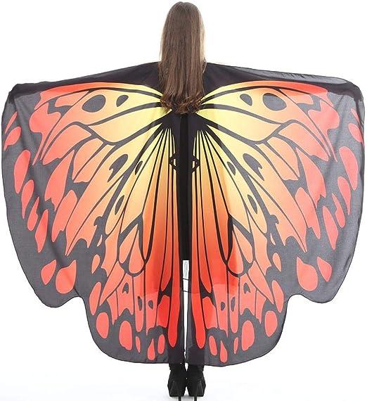 leegoal Alas de Mariposa, alas de Mariposa para niña, Chal de ...