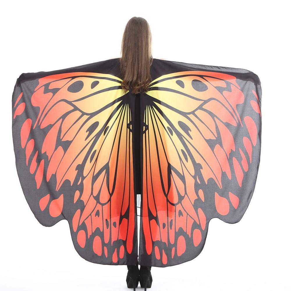 FOONEE - Chal de Mariposa para Disfraz de Mariposa, Accesorio para Disfraz de Hada y Mujer