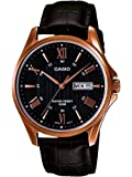 Casio Enticer day and date display Analog Black Dial Men's Watch - MTP-1384L-1AVDF (A881)