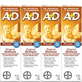 : A+D Original Diaper Ointment, 4 Ounce (Pack of 4)