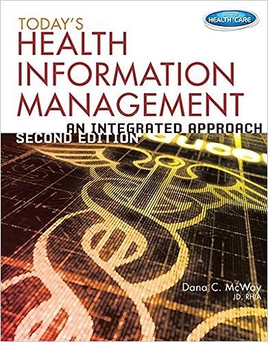 Todays health information management an integrated approach todays health information management an integrated approach 2nd edition fandeluxe Images