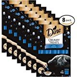 DINE Creamy Treats Tuna Flavour Cat Treats 12g, 32 Count