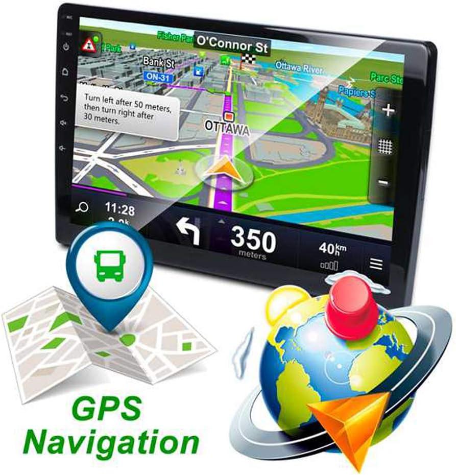 9 Inch Android 8.1 WiFi Universal Car Radio Car MP5 Player Auto Radio Autoradio GPS Navigation Bluetooth Fm USB Car Stereo with Rear View Camera