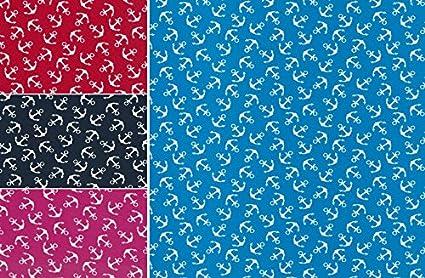 De coton Ancre meritim coton Dekostoff textile tissu coudre
