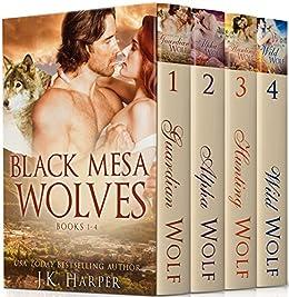 Black Mesa Wolves Books 1-4 by [Harper, J.K.]