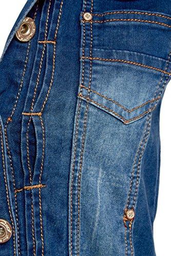 Black 40 pour 36 Jeans 42 d femmes 38 neuf En Taille Blue Veste wgXq1C1R