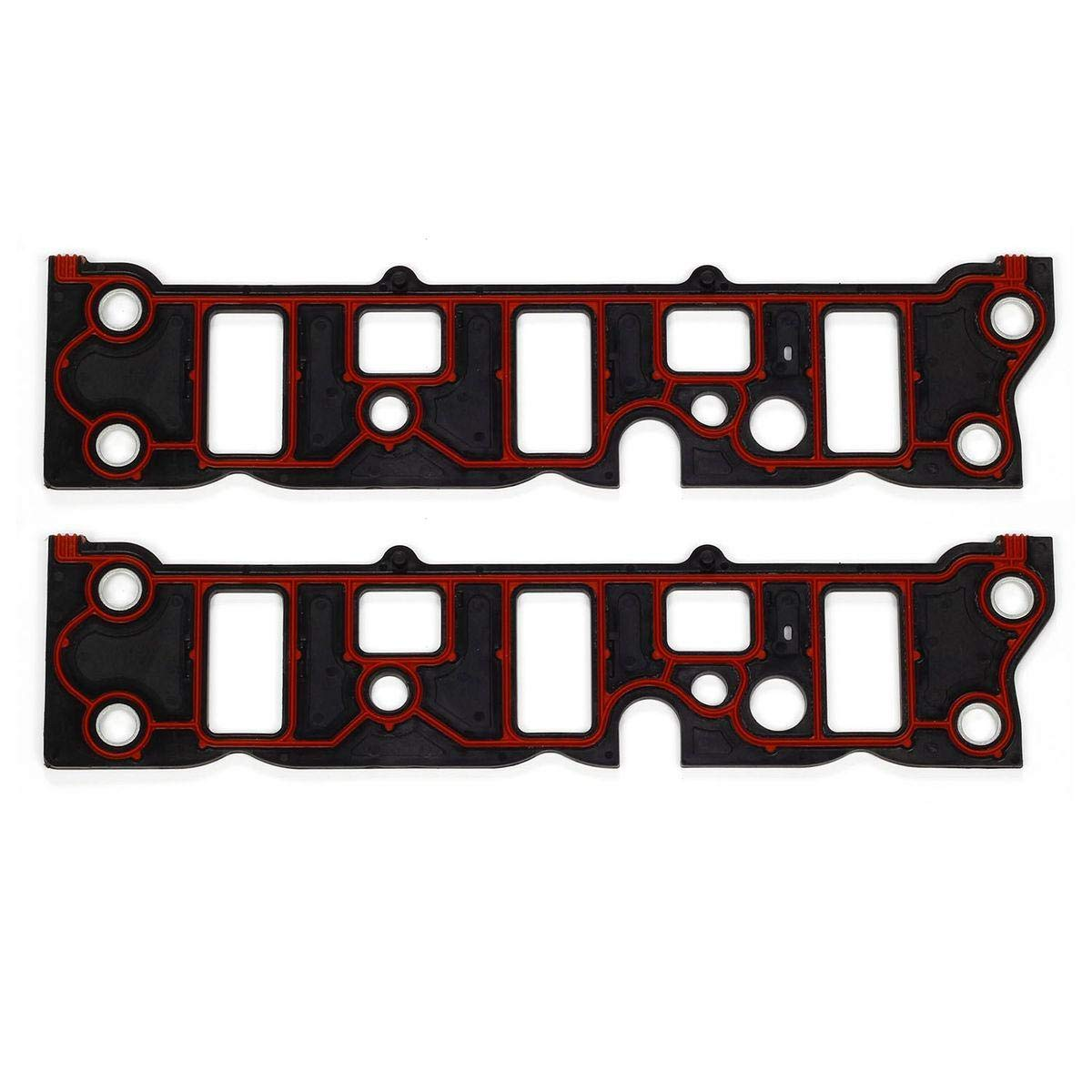 Vincos Engine T Intake Manifold Gasket Lower Intake Gaskets Set Compatible with Buick//Chevy//Oldsmobile//Pontiac V6 3.8 1995-2009
