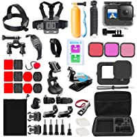 Accessories Kit for GoPro Hero 9 Black with Waterproof Housing Case Travel Case Screen Protector Filter licone Sleeve…