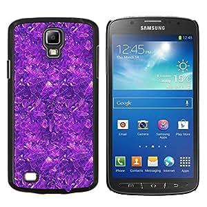 TECHCASE---Cubierta de la caja de protección para la piel dura ** Samsung Galaxy S4 Active i9295 ** --Modelo purpúreo