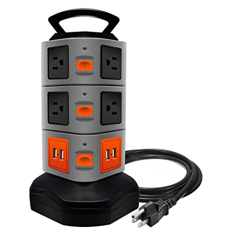 Review Surge Protector Power Strip,