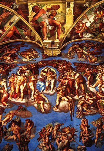 Sistine Chapel Poster Ceiling Fresco By Michelangelo The