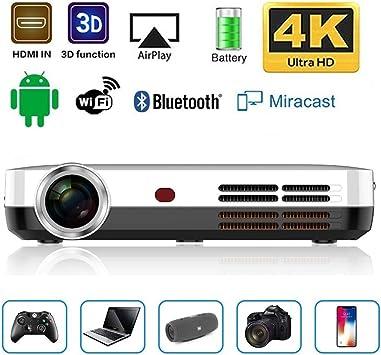 JLCN Mini Proyector DLP portátil 3500 lúmenes 3D 1280 * 800 ...