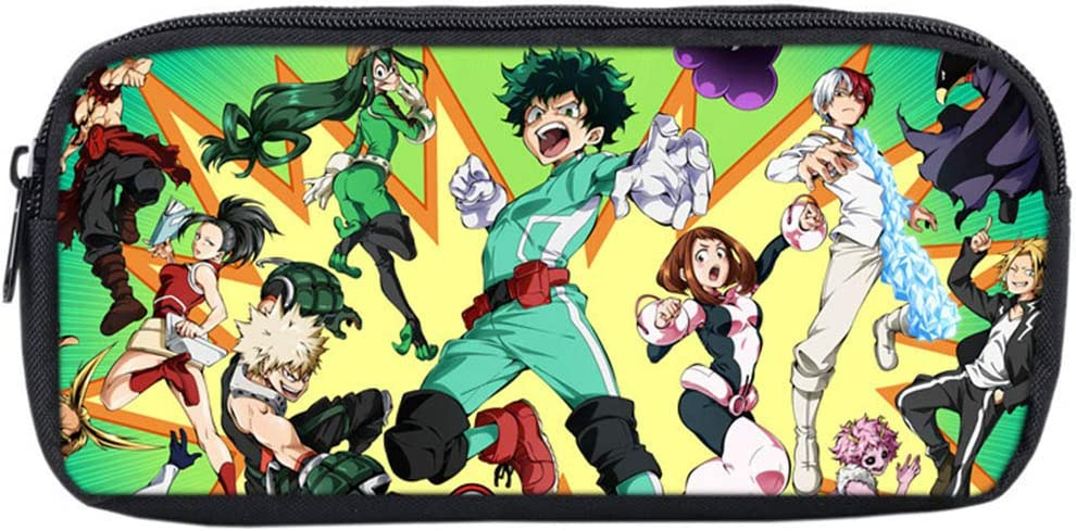 1 bureau et bureau Class A Altcompluser Anime My Hero Academia Trousse pour /étudiants