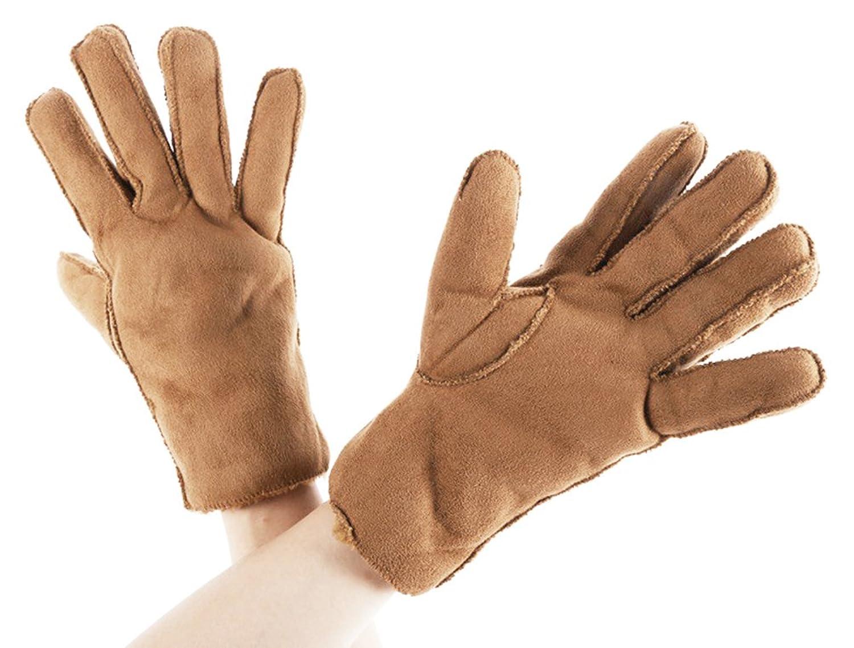 Mens velvet gloves - Hot Sale Mens Winter Warm Thick Velvet Gloves