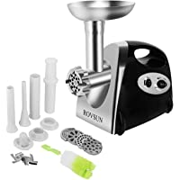 ROVSUN Electric Meat Grinder, 800W Stainless Steel Mincer Sausage Stuffer, Heavy Duty Food Processor with 4 Grinding…