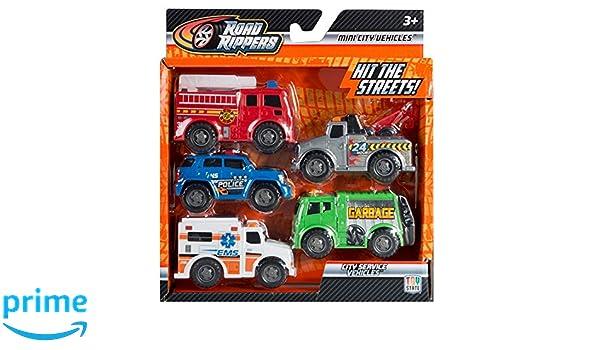 Road Rippers 9904 Mini City Service 5 unidades: Amazon.es: Juguetes y juegos