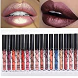 Coosa 6 color Set of 6 Colors Madly MATTE Lipgloss Bold & Vivid Color Matte Lipgloss