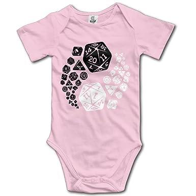 241723519 Amazon.com: Love Baby Boys Girls Short Sleeve Dungeons And Dragons Yin Yang  Good & Evil Onesies Pink: Clothing