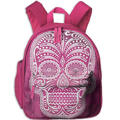 Tutorial Skull Makeup (Dream-R School Backpack Sugar Skull Children Printed Oxford Fabric Backpack With Front Pockets)