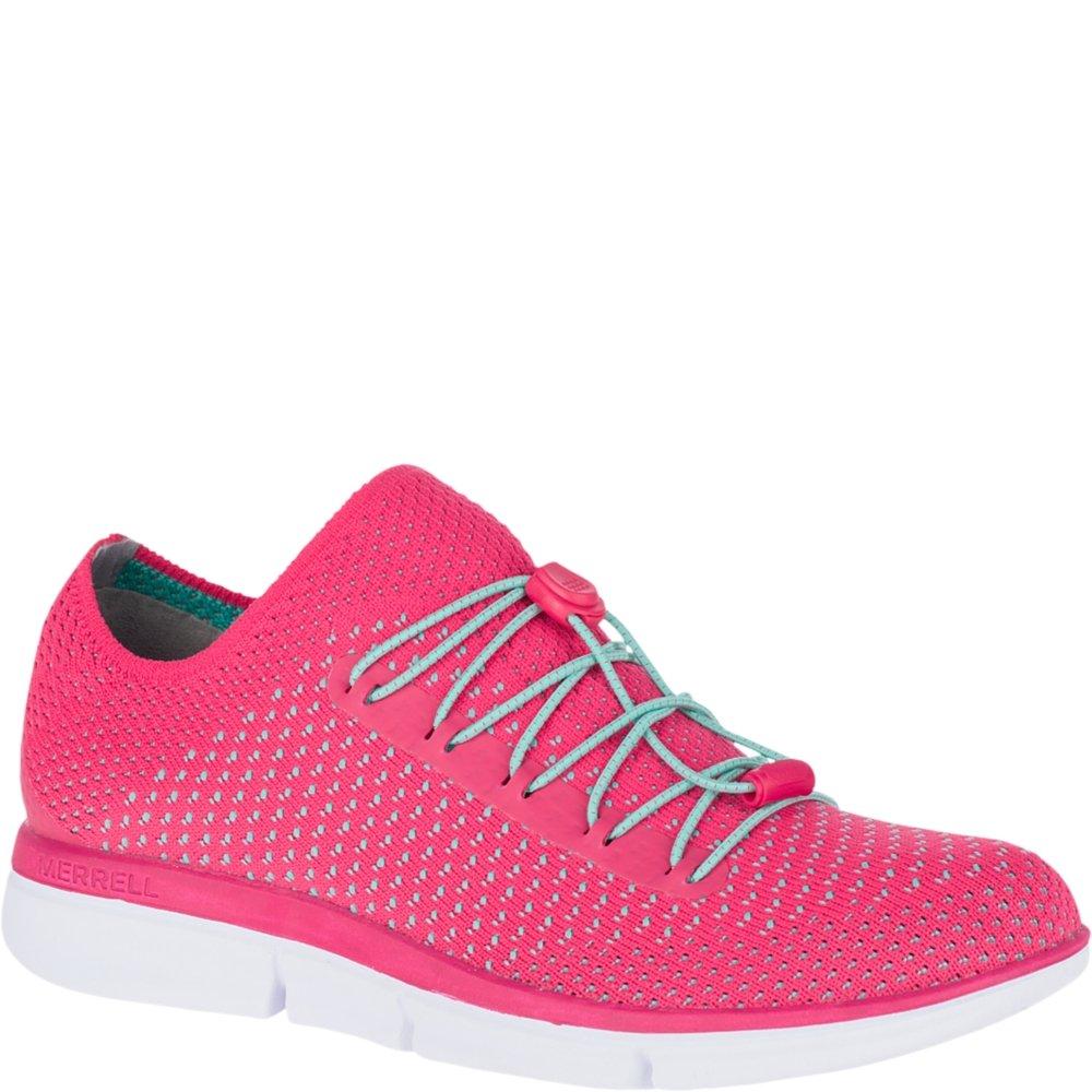 Merrell Women's Zoe Sojourn Lace Knit Q2 Sneaker B072134MC7 8 B(M) US|Azalea