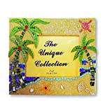 Rockin Gear Palm Tree Picture Frame - Sandstone Mosaic Tile Frame 4'' x 6'' Photos for Wall and Table Top (Palm Trees)
