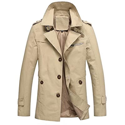 Arrival Classic Casual 4 Colors Trench Coat Slim Spring Autumn Hot Selling Asian Size Jacket