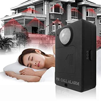 Mini PIR Alert Sensor Infrared GSM Wireless Alarm Monitor Motion Detection Hot Selling Anti-theft