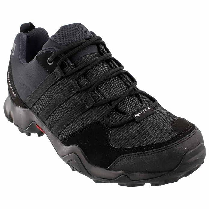 Amazon Com Adidas Ax2 Climaproof Mens Hiking Shoe 11 Black Granite