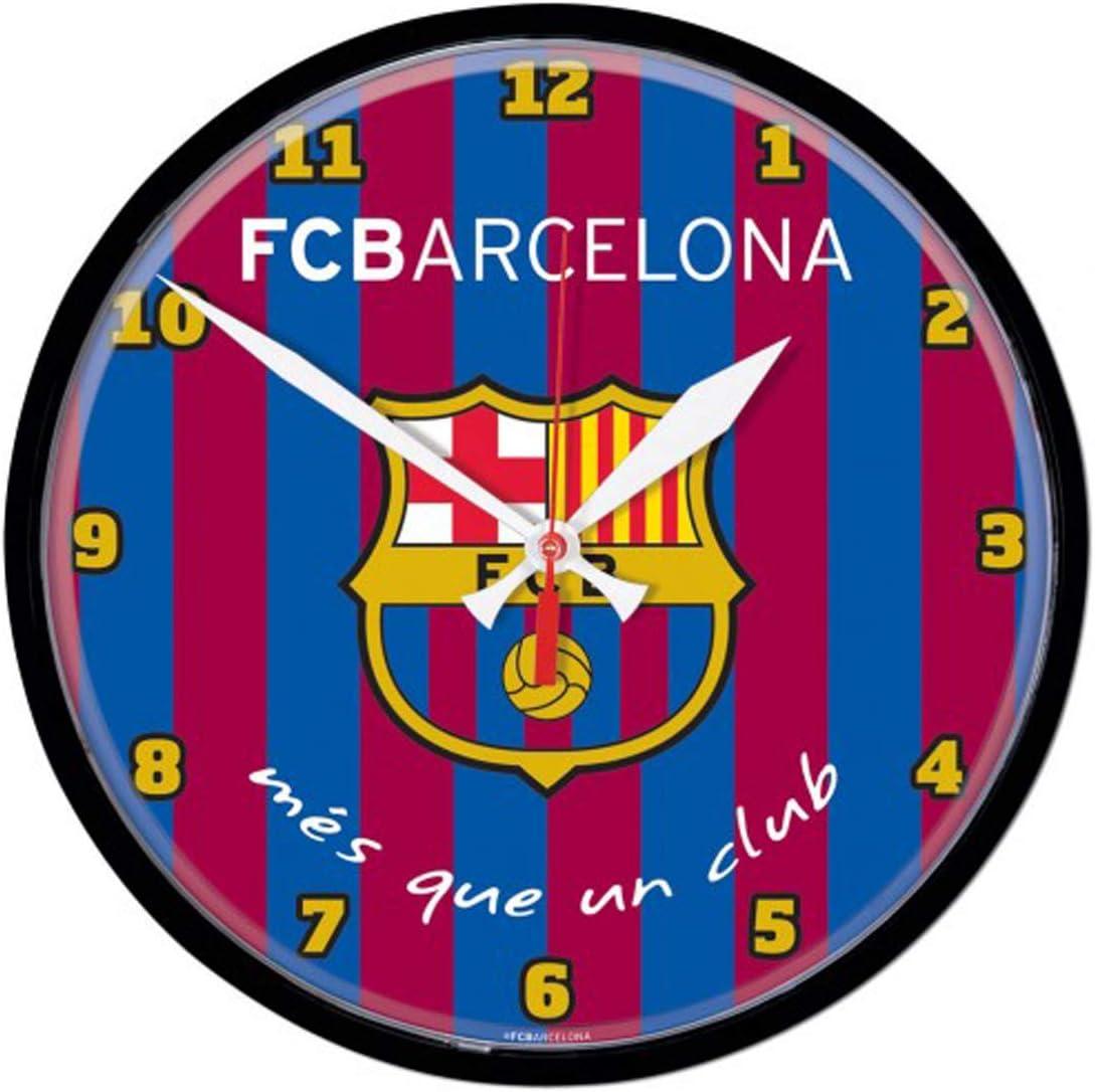 International Soccer FC Barcelona More Than A Club Wall Clock 12 inch Round