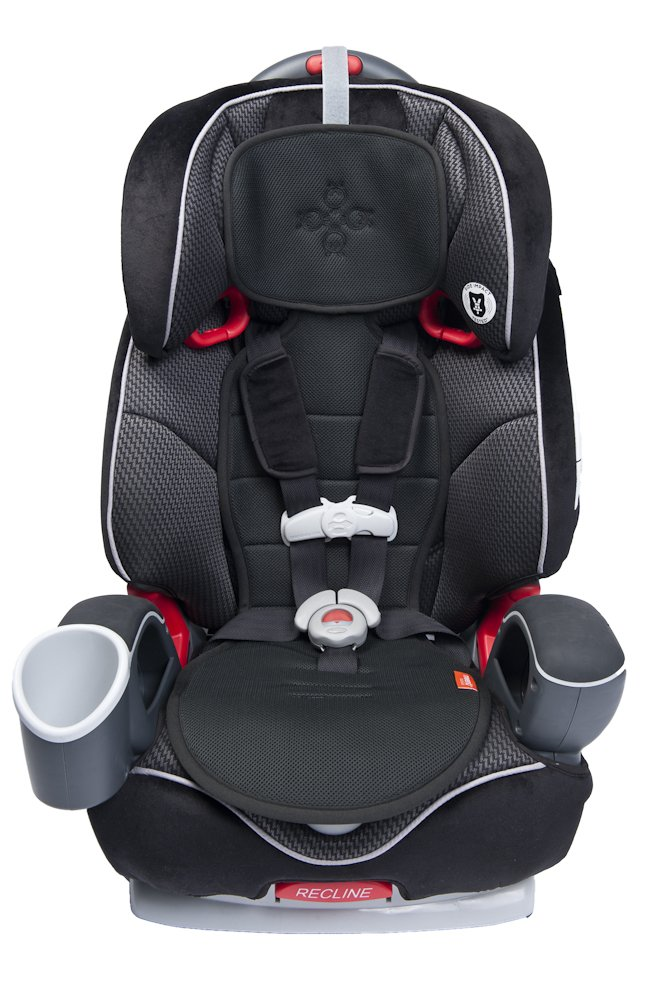 Meeno Child Cool Mee Anti Slip Heavy Duty Absorbent Protector Cooling Universal Leak Proof Car Seat Liner for Children 1 4 Years Old 11.25 W x 33.75 L Silver