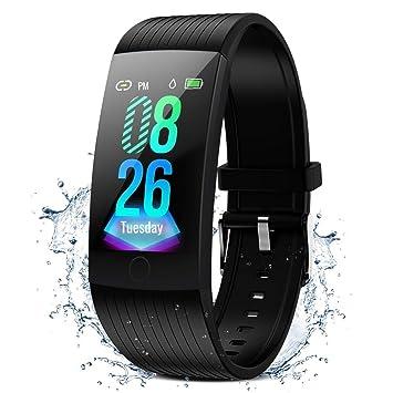 Amazon.com: GOKOO - Pulsera de actividad física para hombres ...